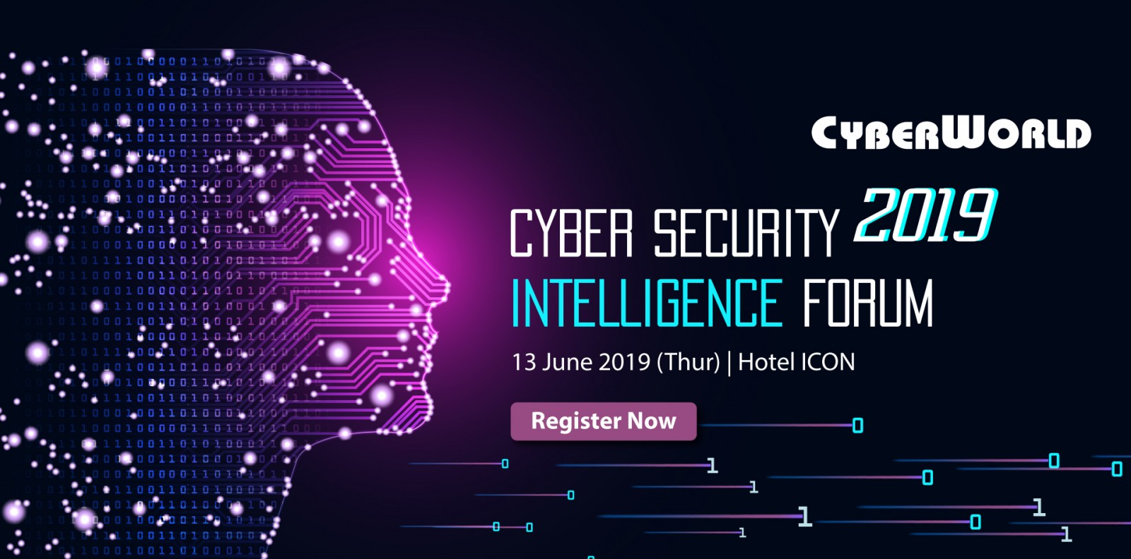 Cyberworld Cyber Security Intelligence Forum 2019